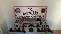 PROPAGANDA - Van'da, PKK'ya Ait Silah Ve Mühimmat Ele Geçirildi
