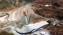 NARLıCA - Yukarı Afrin Barajı Yapımı Sürüyor