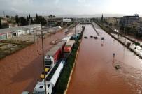 OLAĞANÜSTÜ HAL - Yunanistan'ı Sel Vurdu Açıklaması 10 Ölü