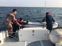 Zeytinburnu Açıklarında Sürüklenen Bottakileri Sahil Güvenlik Kurtardı