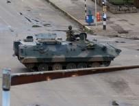 ASKERI DARBE - Zimbabve'de askeri müdahale