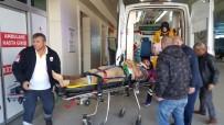 1. Kattan Düşen İşçi Yaralandı