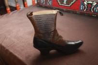 TOPUKLU AYAKKABı - 150 Yıllık Topuklu Ayakkabı Tokat'ta Sergileniyor
