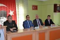 KAMERA SİSTEMİ - Alaçam'da Asayiş Toplantısı
