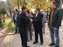 UMRE - Başkan İsmail Avcu, Umre Yolcularını Uğurladı