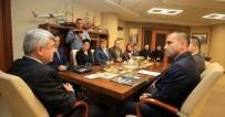 İMAM HATİP MEZUNLARI - Başkan Karaosmanoğlu, Stktemsilcilerini Ağırladı