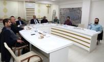 İMAR PLANI - Başkan Kutlu Şehir Plancılarıyla Bir Araya Geldi