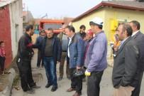 Başkan Tutal'dan Evi Yanan Aileye Ziyaret