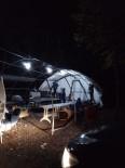 BELGRAD ORMANı - Belgrad Ormanında Kumar Çadırına Baskın
