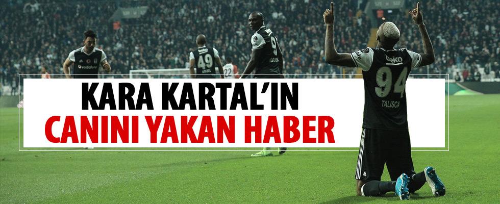 Beşiktaş'ta Talisca depremi.