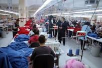 TEKSTİL FABRİKASI - Birecik'teki Tekstil Fabrikası Kadın İstihdamına Katkı Sağlıyor