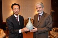 ANKARA BÜYÜKŞEHİR BELEDİYESİ - Büyükelçilerden Başkan Tuna'ya Ziyaret