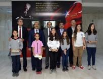 KOMPOZISYON - Çevre Yarışmasında Dereceye Giren Öğrenciler Ödüllerini Aldı
