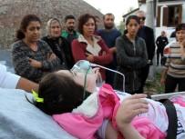 ENGELLİ ÇOCUK - Cipte Bırakılan Engelli Çocuk Cam Kırılarak Kurtarıldı