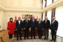 ZÜLKIF DAĞLı - İBB Başkanı Uysal'a Düzce'den Ziyaret
