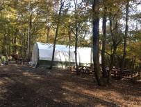 BELGRAD ORMANı - Kamp Çadırı Değil Kumar Çadırı