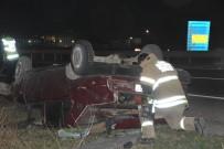 ÇITLEMBIK - Kontrolden Çıkan Otomobil Defalarca Takla Attı Açıklaması 1 Yaralı