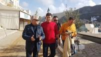 DOLU YAĞIŞI - Marmaris Belediye Başkanı Acar'dan Sel Felaketi Yaşanan Simi'ye Ziyaret