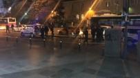 ŞÜPHELİ ÇANTA - Mecidiyeköy'de şüpheli çanta alarmı