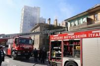 YANGINA MÜDAHALE - Metruk Binada Çıkan Yangın İtfaiye Ekiplerini Harekete Geçirdi
