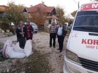ÜLKÜCÜ - -MHP Korkuteli Kadın Kolları Kömür Dağıttı