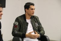 MARIO GOMEZ - Necip Uysal, Genç Kartallar'la Bir Araya Geldi