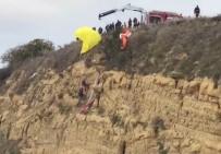 YAMAÇ PARAŞÜTÜ - Paraşütçülerin Ölümden Döndüğü Anlar Kamerada