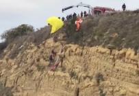 MURAT SOYDAN - Paraşütçülerin Ölümden Döndüğü Anlar Kamerada
