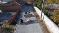 KOCABAŞ - Saruhanlı Belediyesi Mahalleleri Kilit Parke Taşıyla Donatıyor