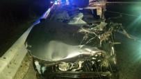 İZZET BAYSAL DEVLET HASTANESI - Tıra Arkadan Çarpan Otomobil Sürücüsü Öldü