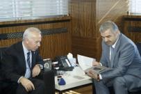 KENTSEL DÖNÜŞÜM PROJESI - Türkiye İMSAD Yönetim Kurulu Üyeleri Başkan Çelik'i Ziyaret Etti