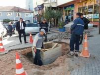 KÖPRÜLÜ - Vezirhan'da Kanalizasyon Çalışmaları Devam Ediyor