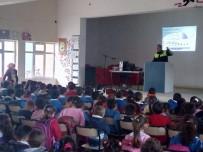 EMNIYET KEMERI - Vezirköprü'de Trafikte Çocuk Konuşuldu
