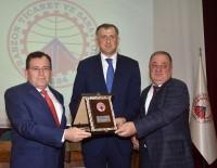 SINIR KAPISI - Acara Özerk Cumhuriyeti Başkanı Pataradze Trabzonlu İş Adamları İle Buluştu