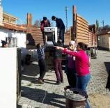 EV TEMİZLİĞİ - AK Parti Mihalıççık Kadın Kolları'ndan Yardım Eli