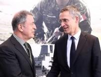 GENELKURMAY BAŞKANI - Akar, NATO Genel Sekreteri Stoltenberg ile görüştü