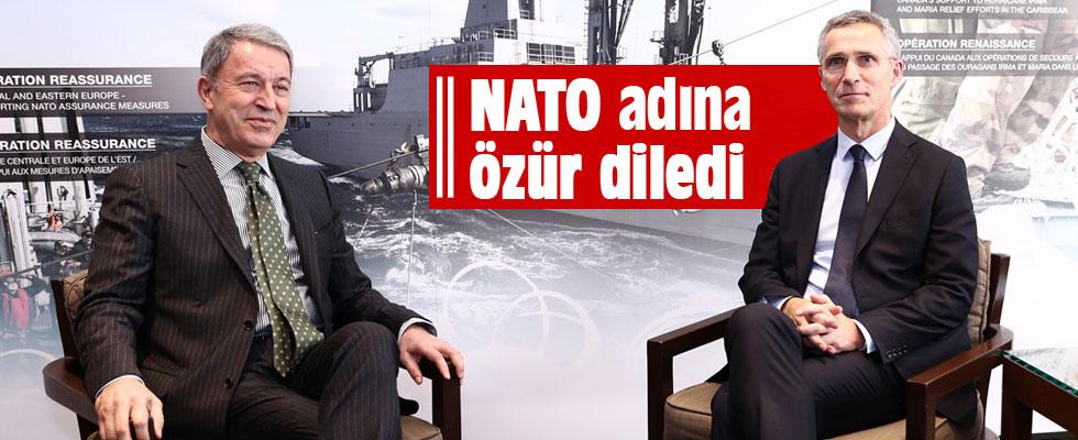 Akar, NATO Genel Sekreteri Stoltenberg ile görüştü