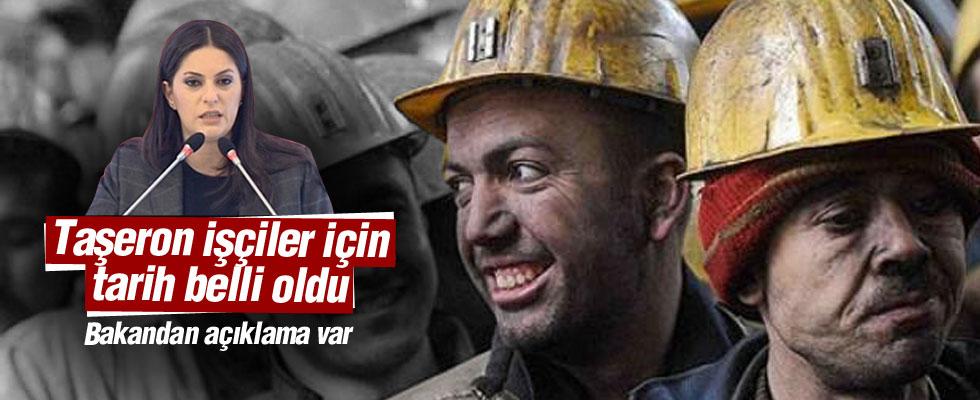 Bakan Sarıeroğlu'dan taşeron açıklaması