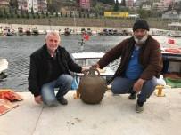 BIZANS - Balıkçıların Ağına Bizans Dönemi'ne Ait Tarihi Eser Takıldı