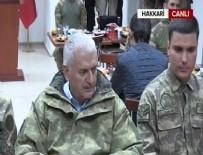 DAĞLıCA - Başbakan Dağlıca'da Mehmetçiği ziyaret etti