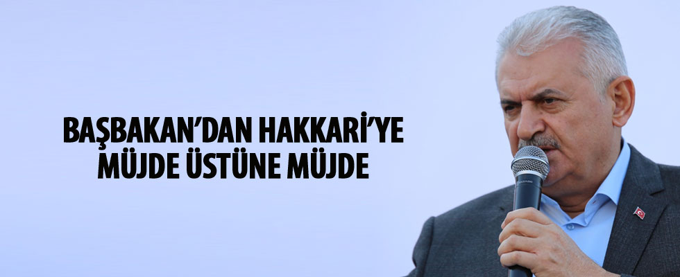 Başbakan Yıldırım'dan Hakkari'ye doğalgaz müjdesi