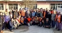 YAŞANABİLİR KENT - Başkan Ertürk, Çalışanları İle Kahvaltıda Buluştu