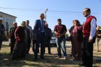 ORMAN ARAZİSİ - Başkan Tarhan Müdahale Etti Ağaçlar Kesilmekten Kurtuldu