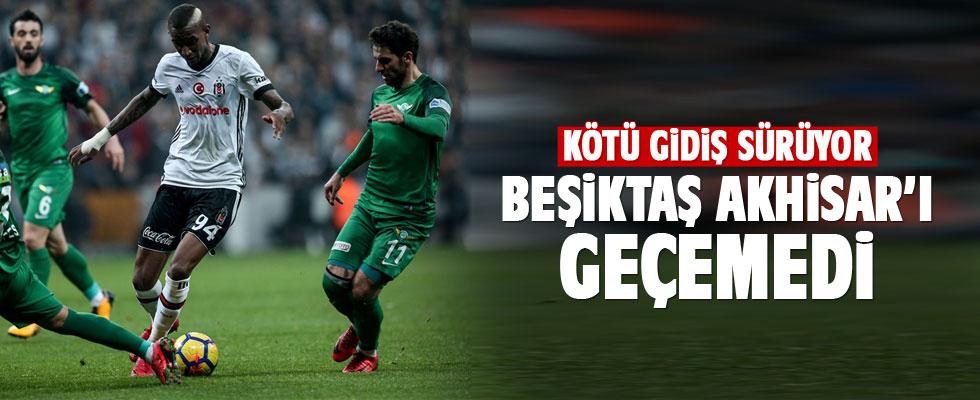 Beşiktaş Akhisar'ı geçemedi