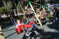 BOZÜYÜK BELEDİYESİ - Cemalettin Köklü Parkı'na Ailelerden Yoğun İlgi