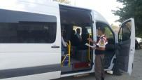 TRAFİK KURALLARI - Elazığ'da Servislere Sıkı Denetim