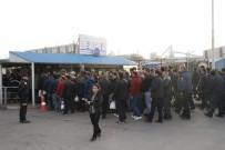 ERDEMIR - Erdemir İşçilerinden Protesto Eylemi