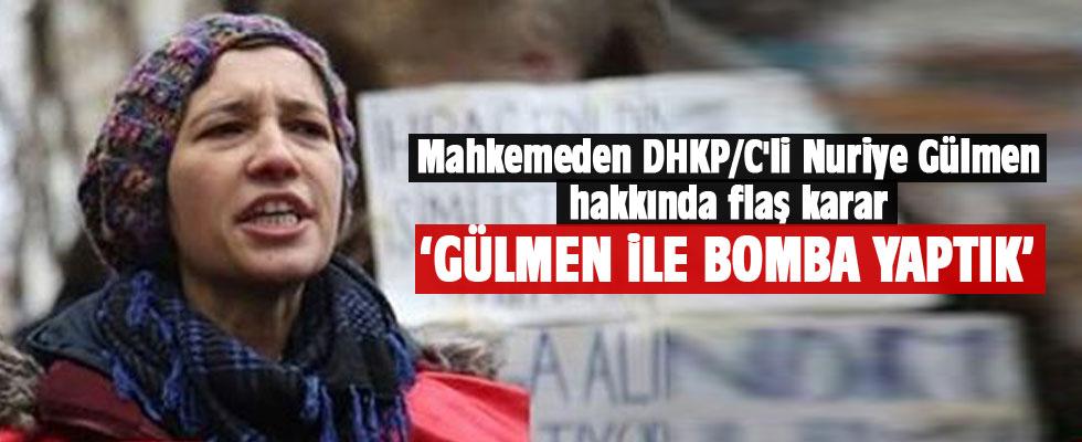 DHKP/C'li Nuriye Gülmen hakkında flaş karar.