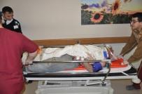 CEBRAIL - İnşaattan Düşen Usta Ağır Yaralandı