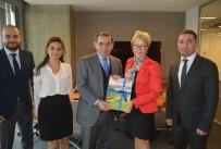İSVEÇ - İsveç Başkonsolosu'ndan Kulüpler Birliği'ne Ziyaret